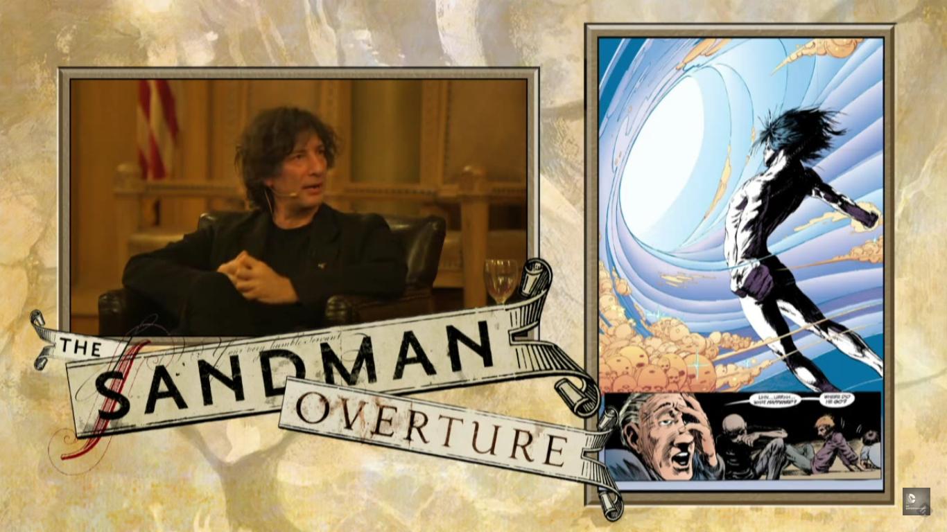 Mais de uma hora de conversa entre Neil Gaiman e Junot Díaz sobre Sandman