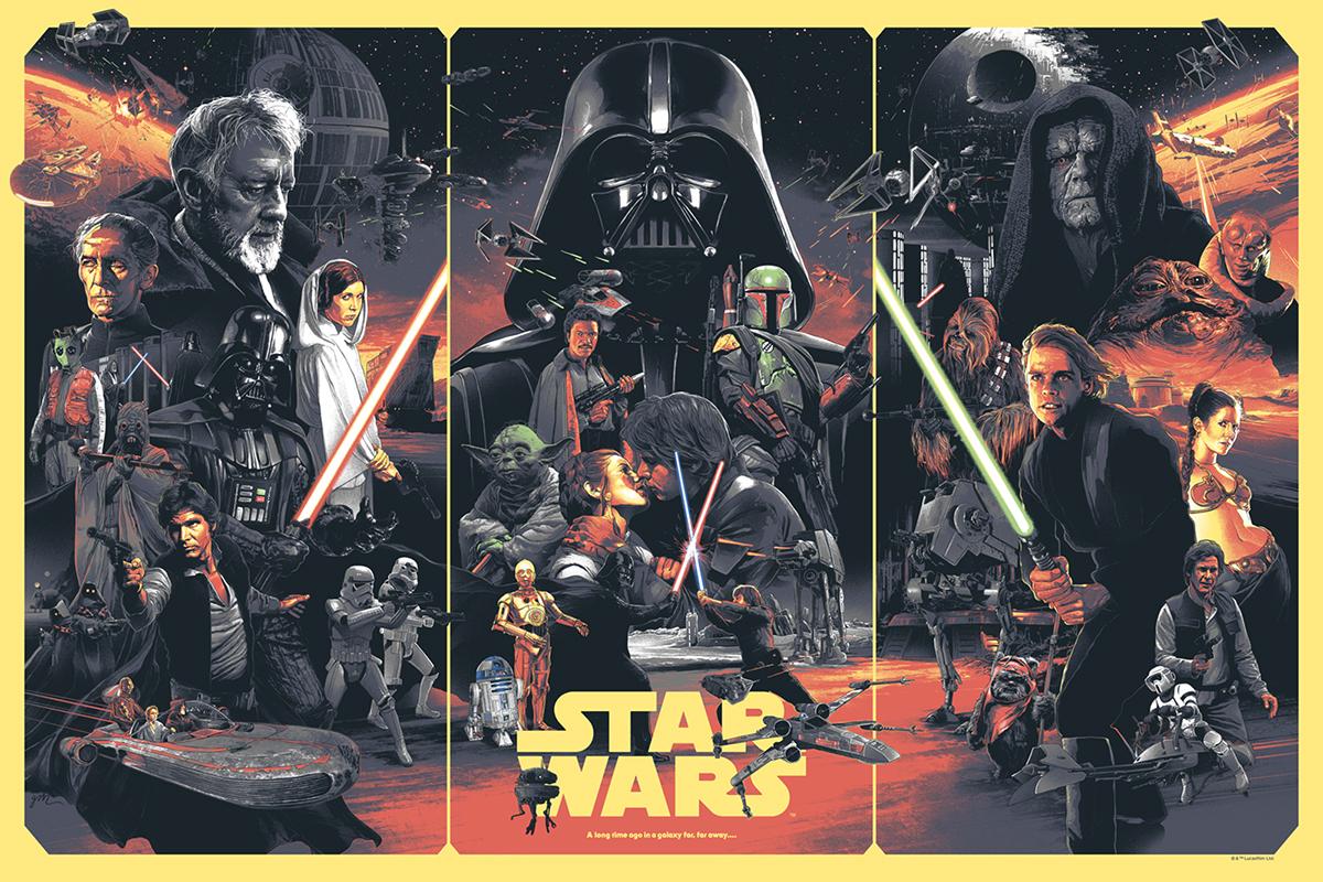 Star Wars, por Gabz