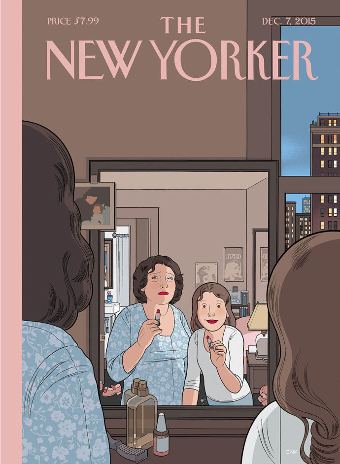 Moving Images: a capa animada do Chris Ware pra próxima edição da New Yorker