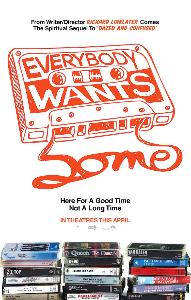 Everybody Wants Some, por Richard Linklater