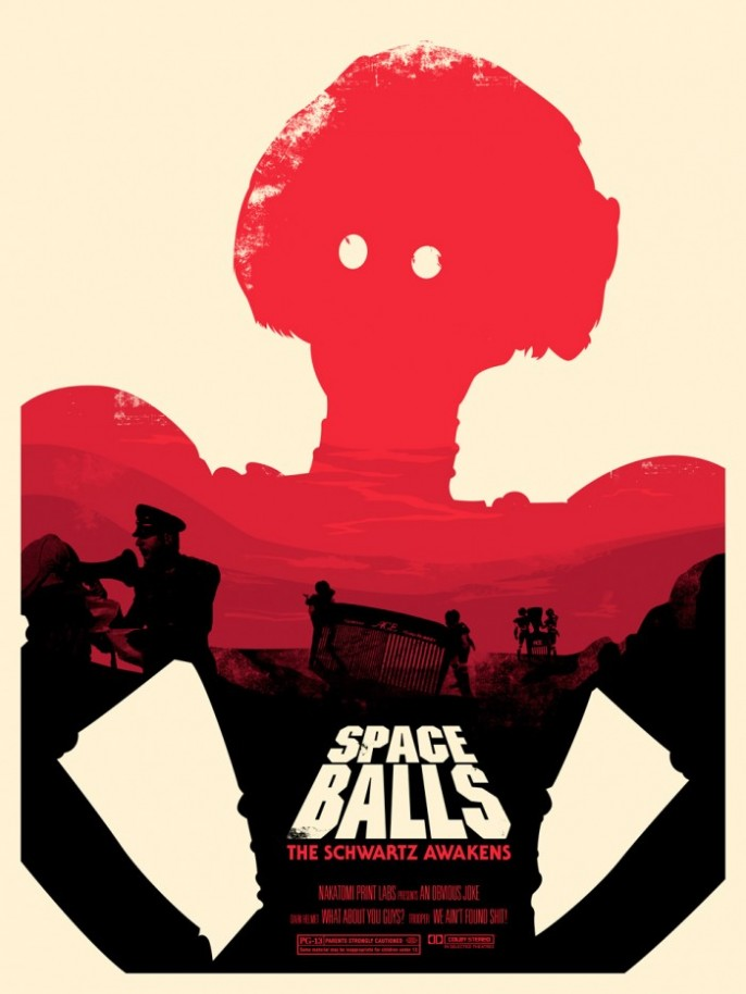 Spaceballs, por Joshua Budich