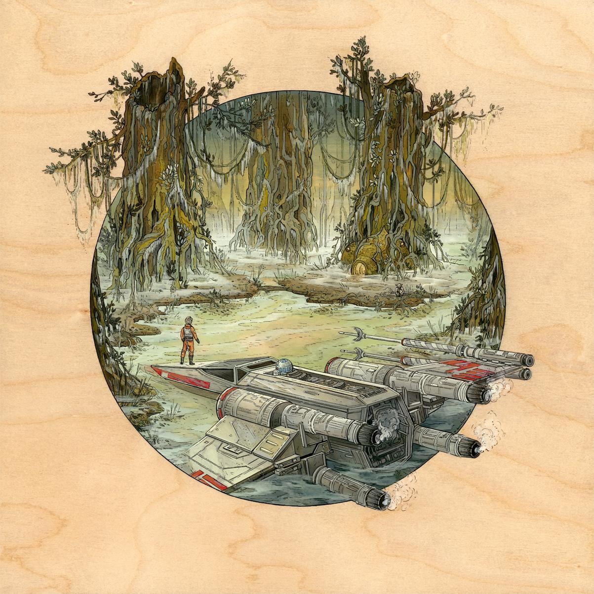 Star Wars, por Nicole Gustafsson