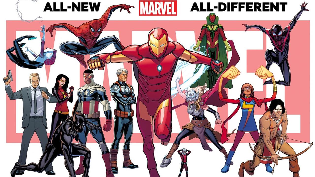 2015: o ano em que a Marvel pensou em diversidade e representatividade
