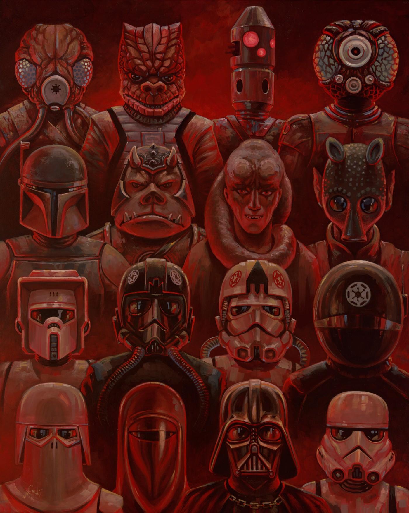 Star Wars, por Aaron Jasinski