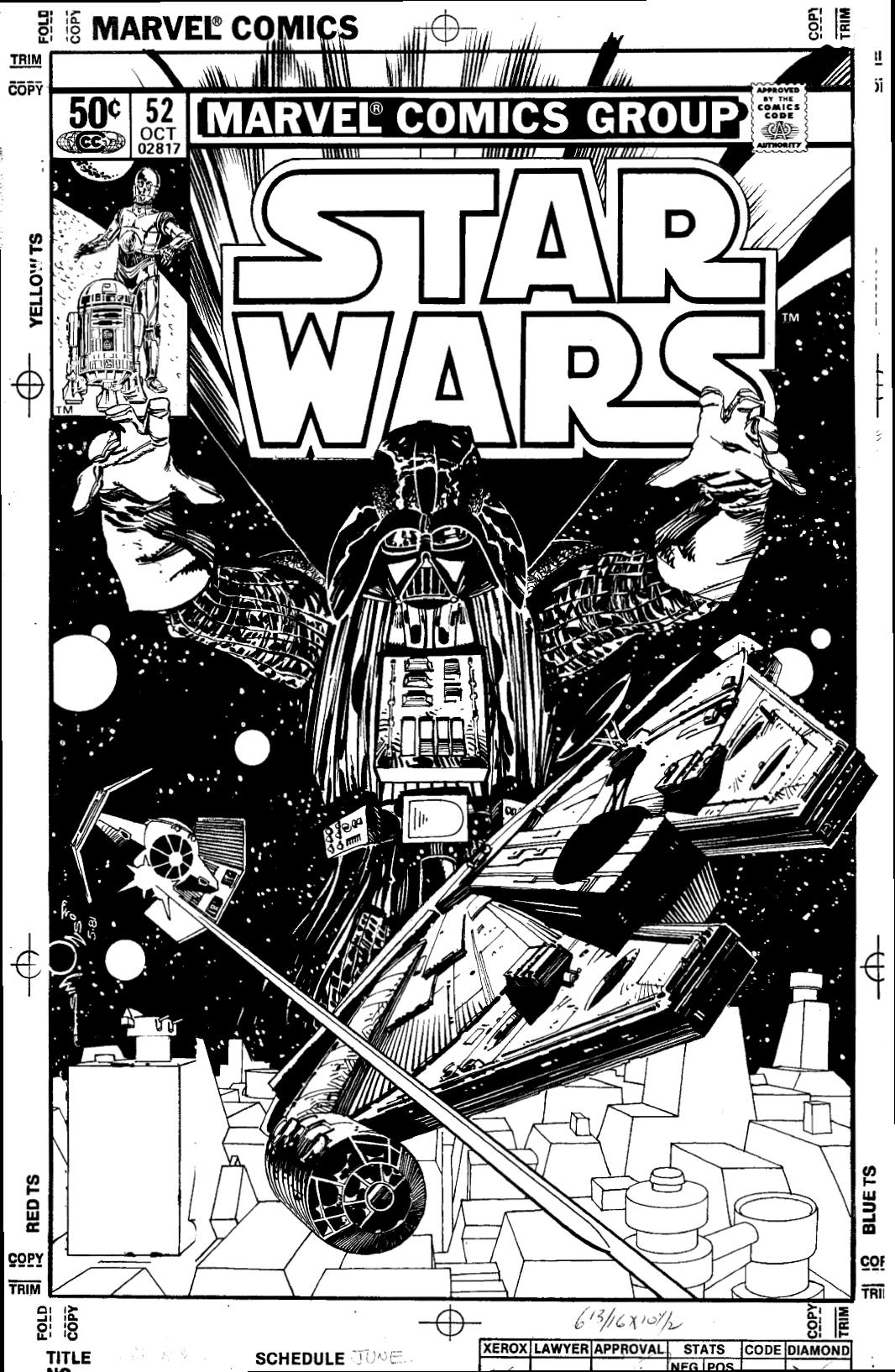 Star Wars, por Walter Simonson