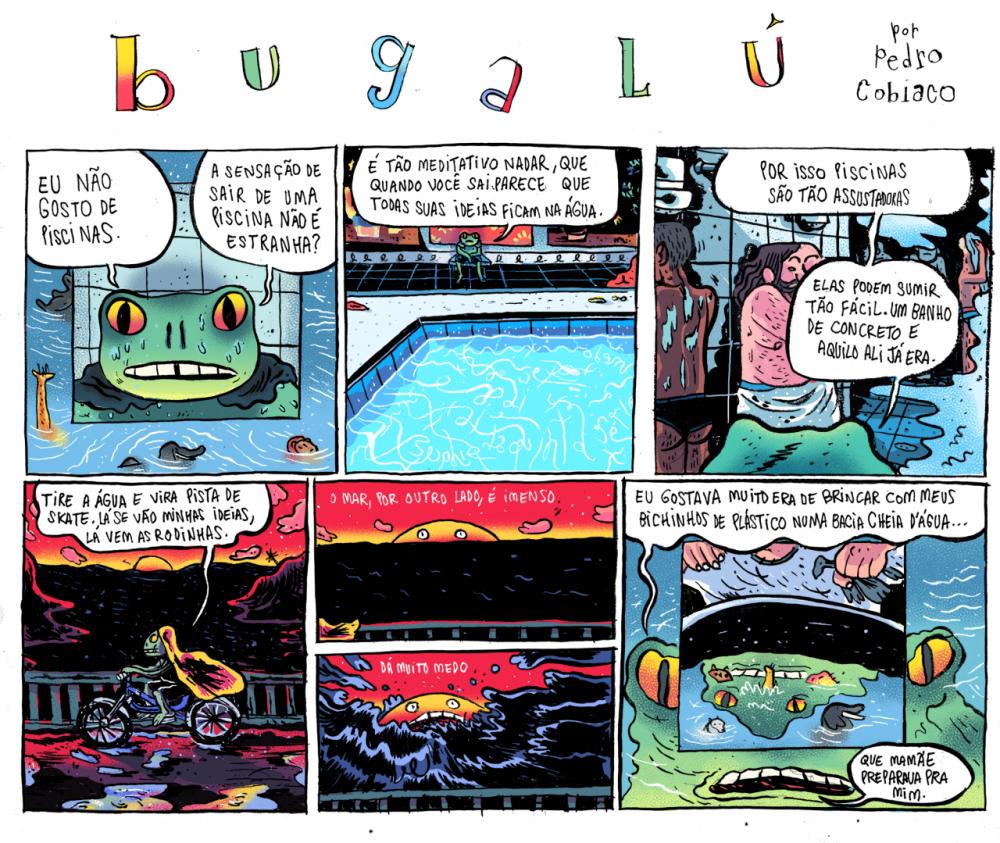 Bugalú: está no ar a nova série semanal de Pedro Cobiaco