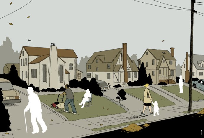 The Leftovers, por Adrian Tomine