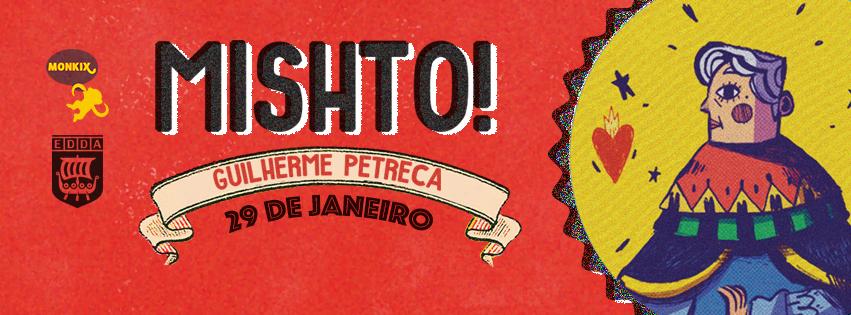 Guilherme Petreca lança Mishto! na Monkix na próxima 6ª (29/1)