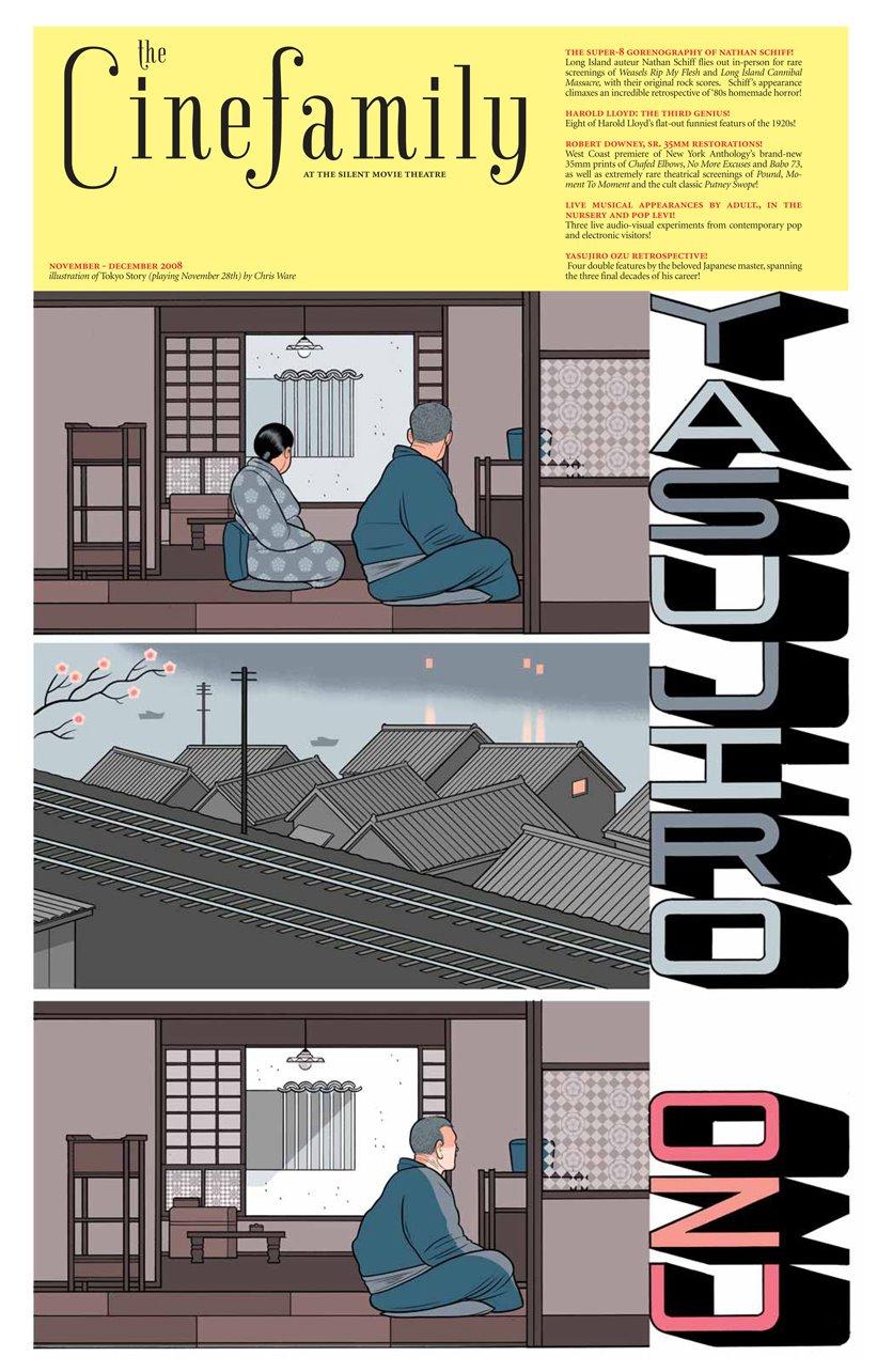 Tokyo Story, por Chris Ware