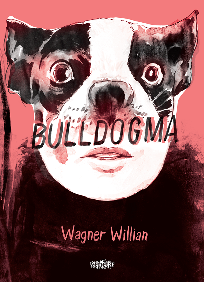 A capa de Bulldogma, a nova HQ de Wagner Willian
