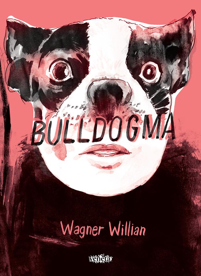A capa de Bulldogma, a nova HQ de Wagner Willian