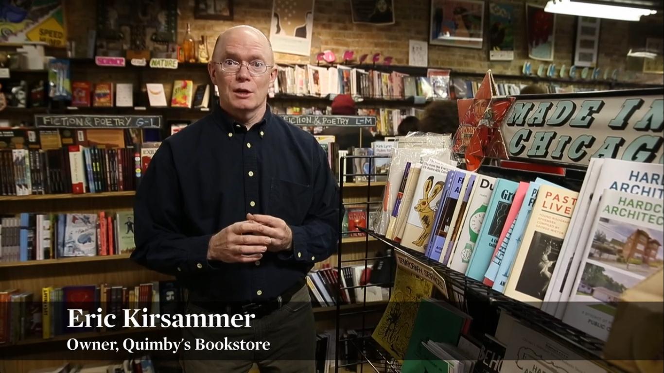 Uma visita à Quimby's Bookstore