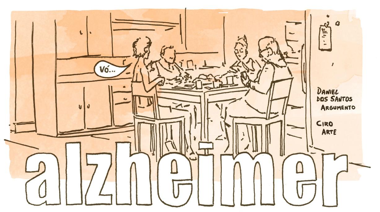 Alzheimer: a nova HQ dos autores da coletânea A Passeio