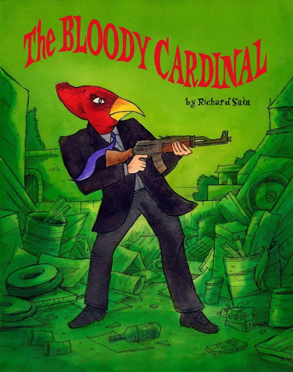 The Bloody Cardinal, a nova webcomic de Richard Sala