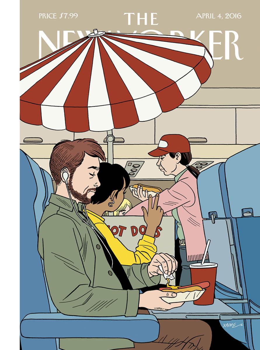 Jaime Hernandez na capa da New Yorker