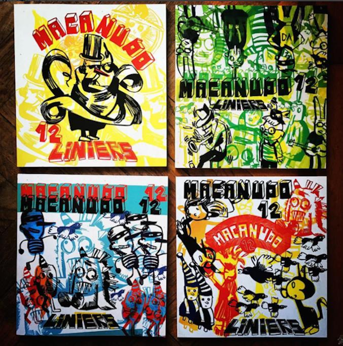 As quatro capas de Macanudo #12
