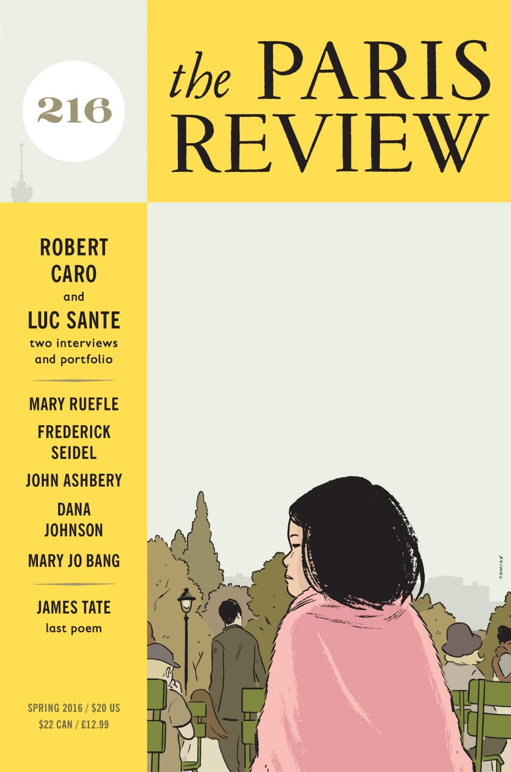 Adrian Tomine na capa da próxima edição da Paris Review