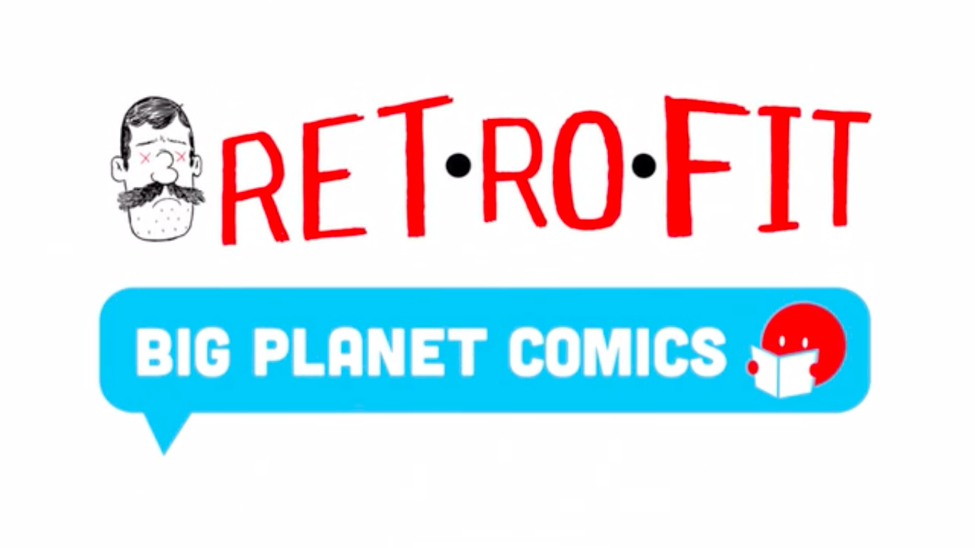 Retrofit Comics 2016: está no ar o Kickstarter da editora de Box Brown