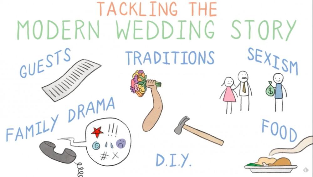 O trailer de Something New: Tales From A Makeshift Bride, a nova HQ de Lucy Knisley