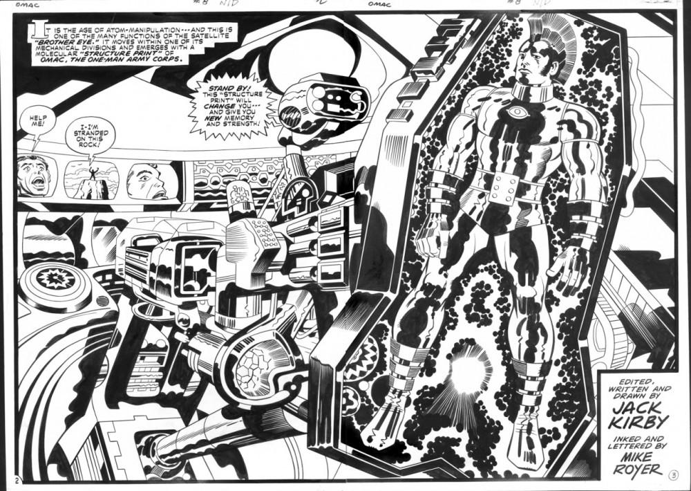 Omac #8, por Jack Kirby