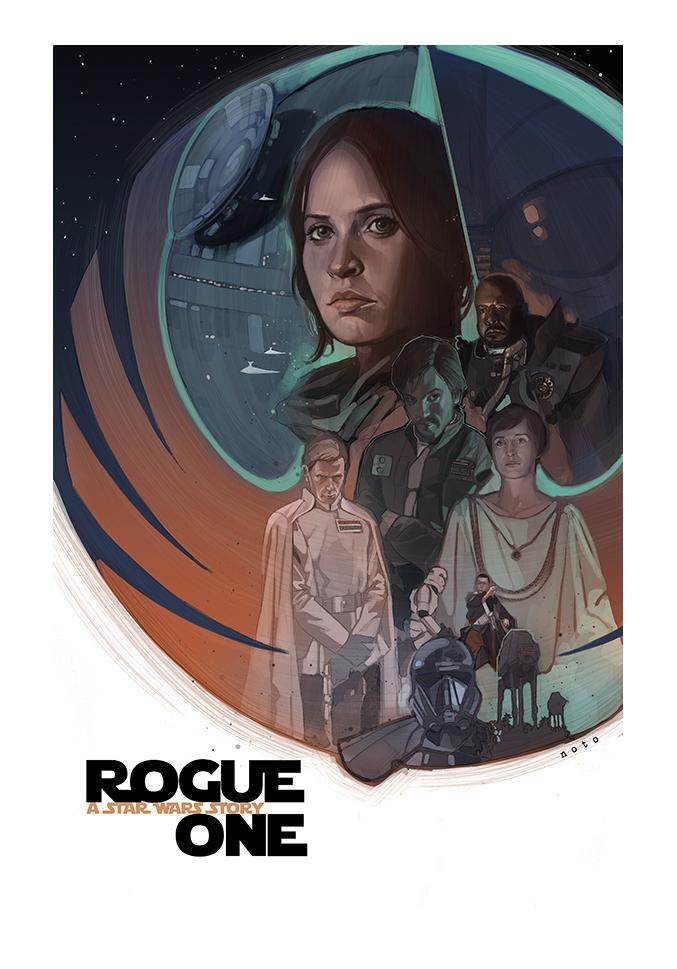Rogue One, por Phil Noto