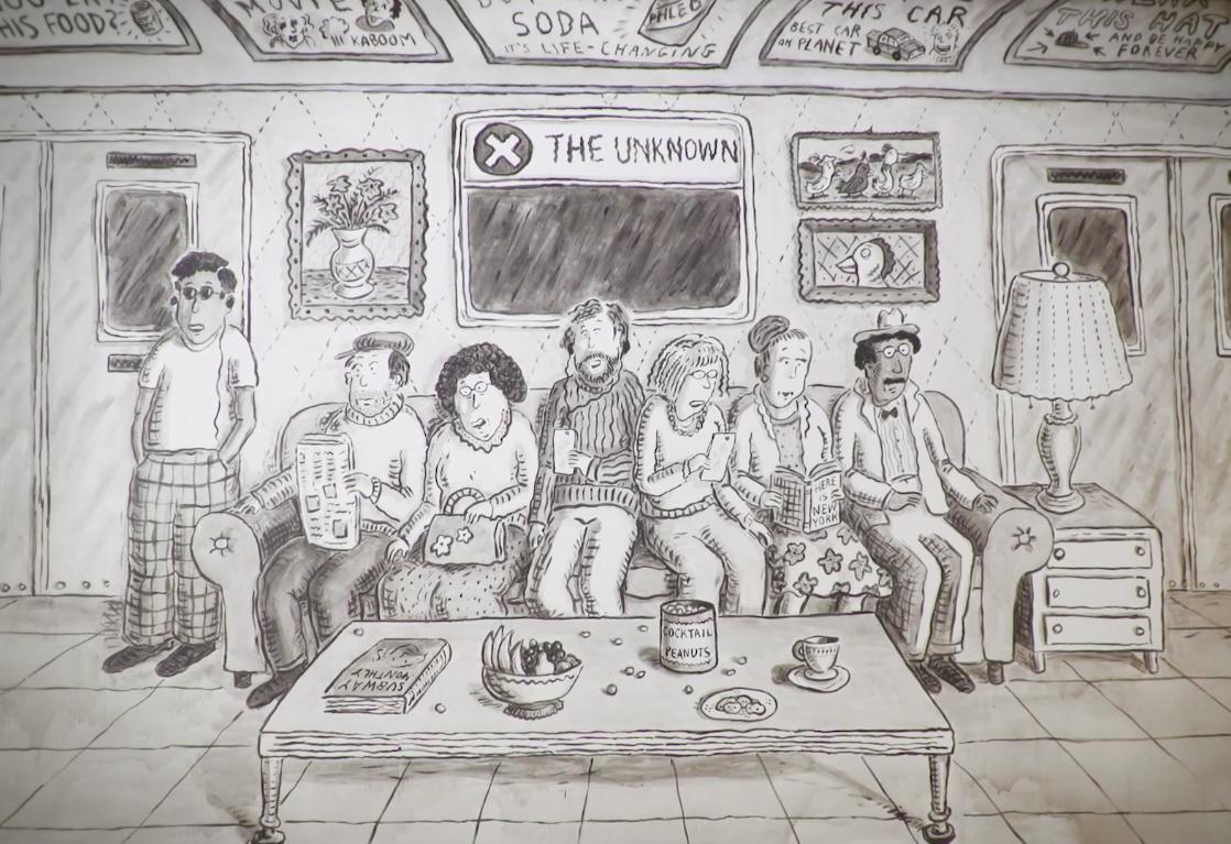 As memórias de Roz Chast em exposição no Museum of the City of New York