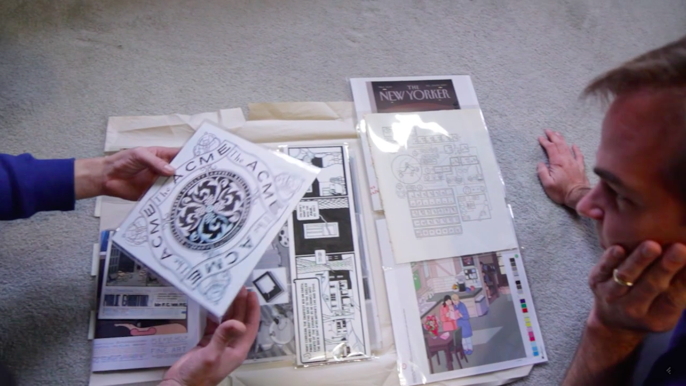 Unboxing Chris Ware