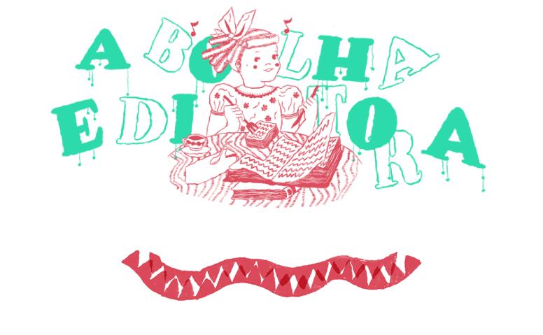 O novo site da Bolha e as quatro obras em campanha de financiamento coletivo na página da editora
