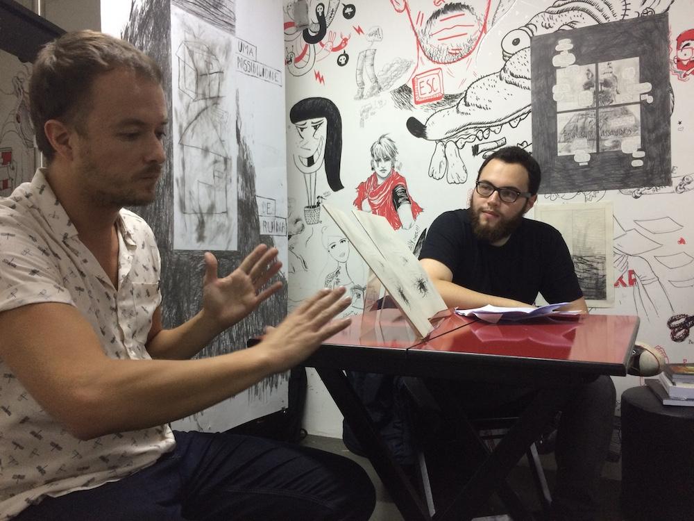 A exposição de Incidente em Tunguska e o bate-papo com Pedro Franz na Ugra