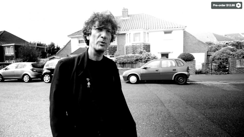 Neil Gaiman: Dream Dangerously um documentário sobre a carreira do autor de Sandman