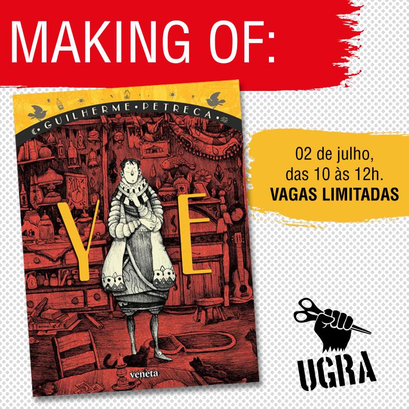 Guilherme Petreca apresenta o making-of de Ye na loja da Ugra
