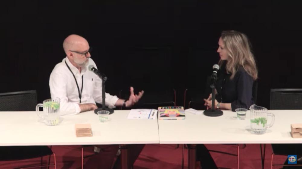 Uma hora de conversa com Daniel Clowes sobre a criação de Patience