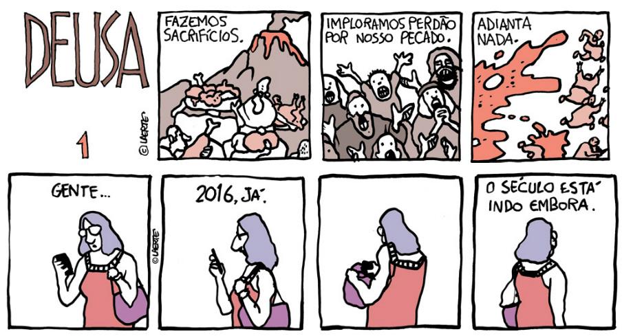 Quais as grandes HQs publicadas no Brasil em 2016 até agora?