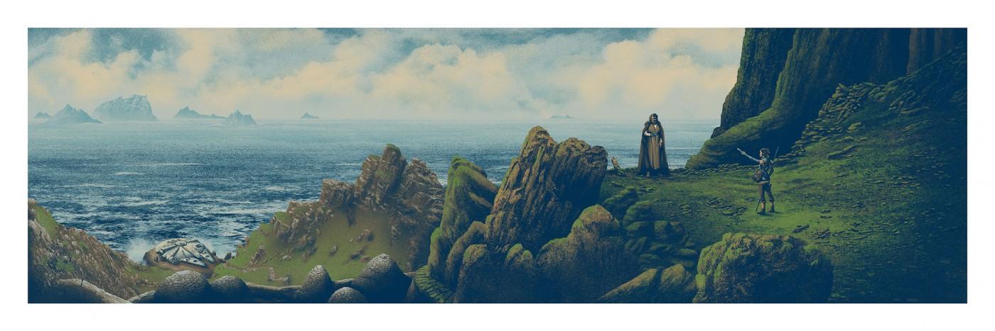 Luke + Rey, por Mark Englert