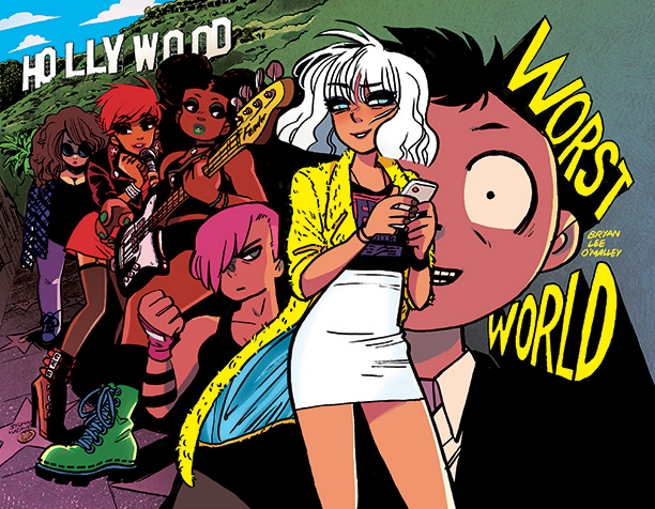 Worst World: a próxima HQ de Bryan Lee O'Malley, o autor de Scott Pilgrim