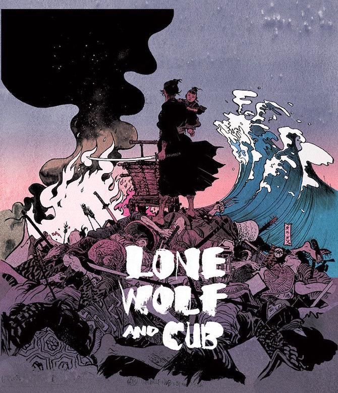 Lobo Solitário, por Paul Pope