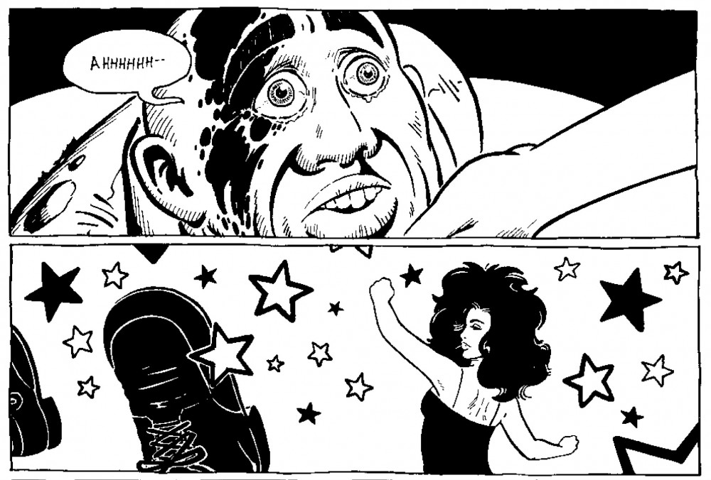 ## Retrospectiva Vitralizado 2016 ## Sopa de Lágrimas (Veneta), por Gilbert Hernandez