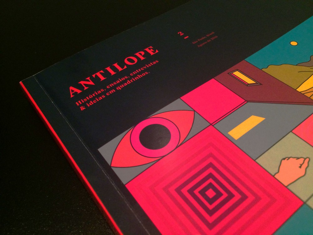 """A Antílope está de volta: """"Parte da proposta da revista é criar uma sensação de desafio ao leitor"""""""