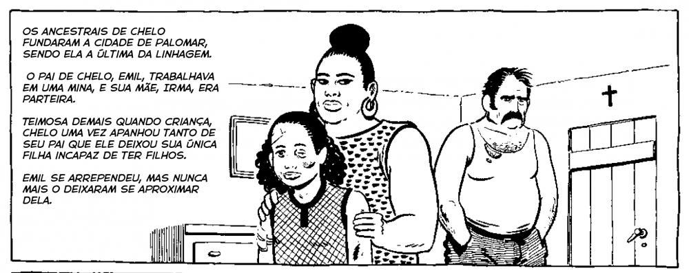 """Papo com Gilbert Hernandez: """"Quero me relacionar com o passado dos meus leitores sem depender do apelo nostálgico dos quadrinhos"""""""