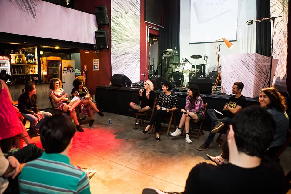 Debate com Karina Buhr, Marcelo Santiago, Sara Não Tem Nome e Carol Bicalho (Foto: Luiz Carlos Oliveira e Luiza Palhares)