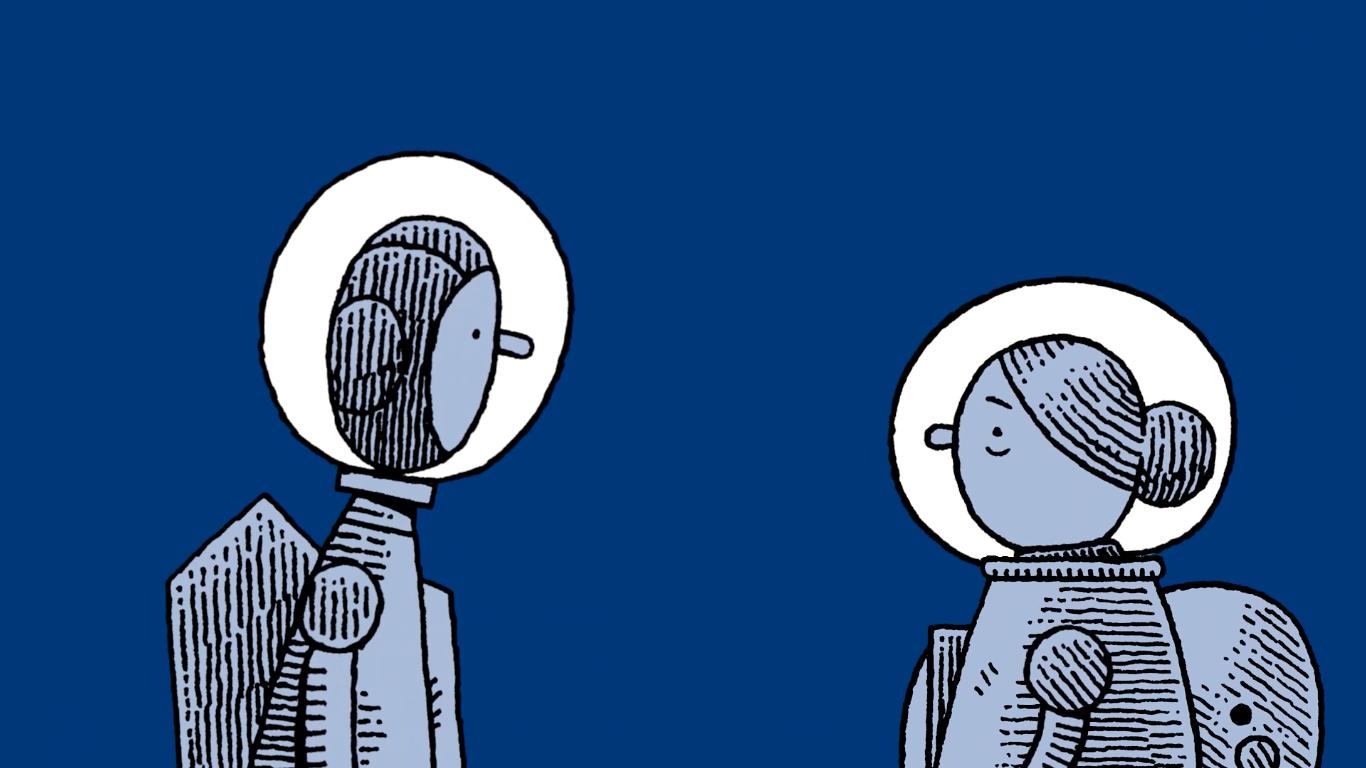 O trailer de Mooncop, o próximo quadrinho de Tom Gauld