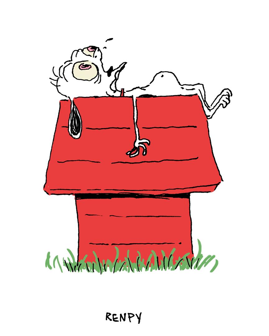 Renpy Ren + Snoopy = Renpy
