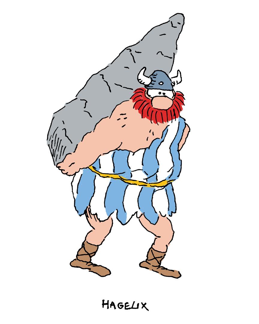 Hagar + Obelix = Hagelix