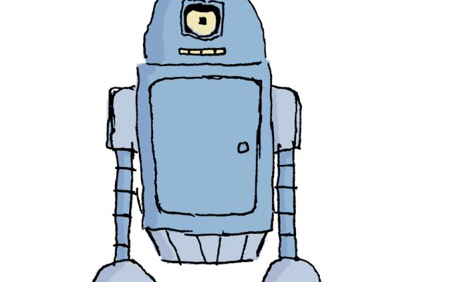 Bender + R2D2 = Ben2Der2