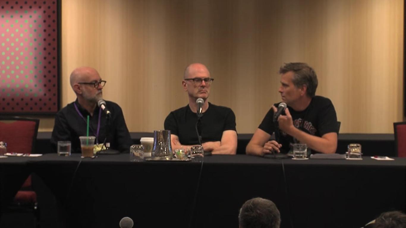 Uma conversa entre Charles Burns e Daniel Clowes na Small Press Expo 2016