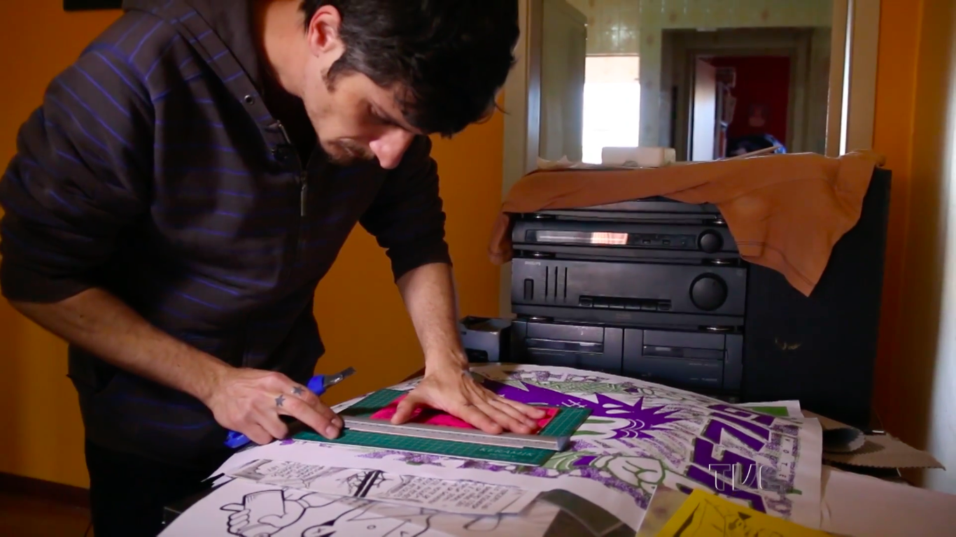 O trabalho de Diego Gerlach no programa Singulares da TVE/RS