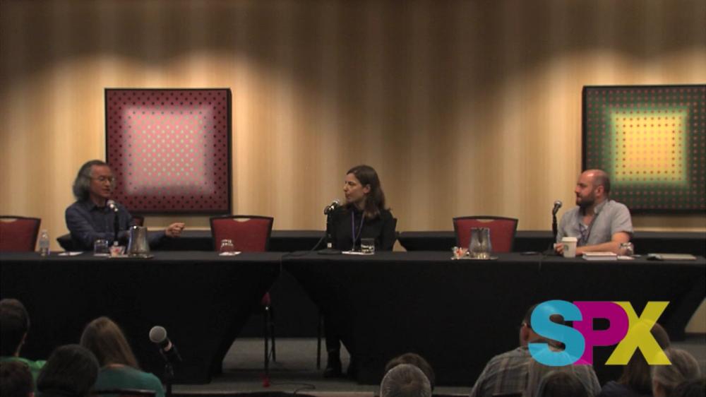 Joe Sacco e Sarah Glidden conversam sobre jornalismo em quadrinhos na Small Press Expo 2016