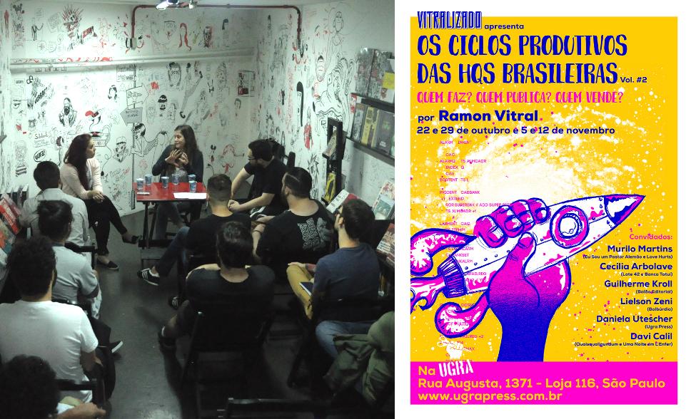 A última aula do curso Os Ciclos Produtivos das HQs Brasileiras – Vol. #2