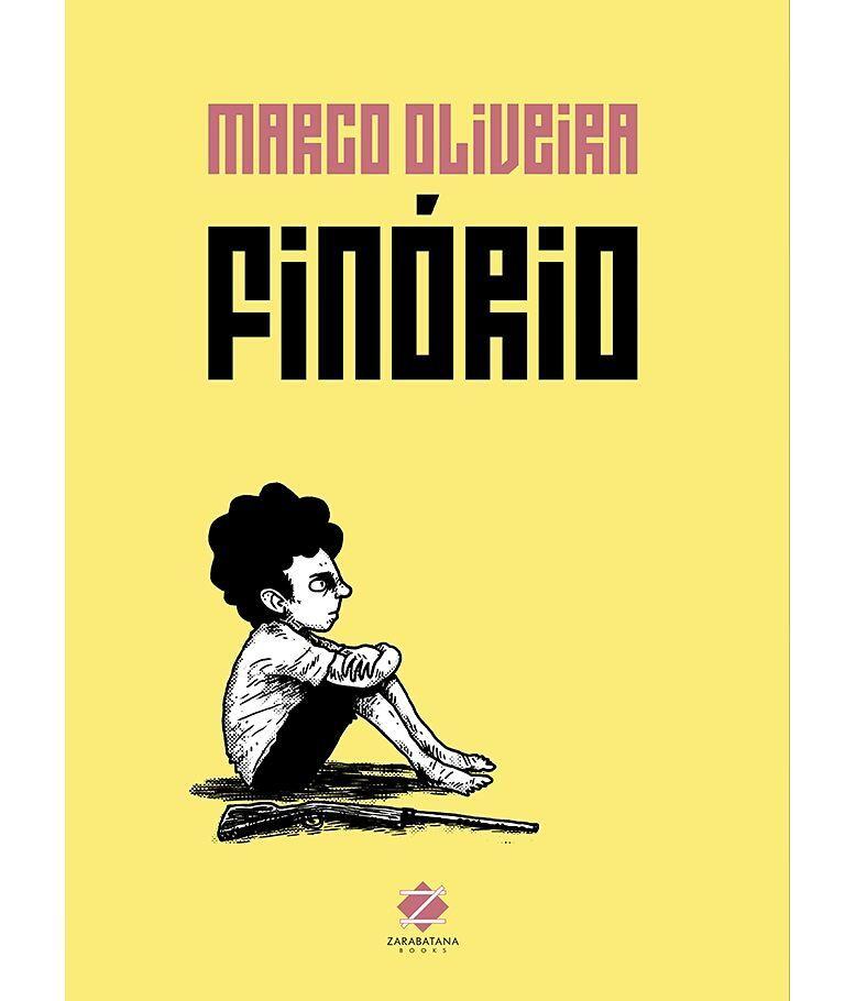 A capa de Finório, a próxima HQ de Marco Oliveira