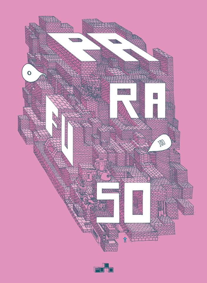 PARAFUSO: a capa da edição inaugural da nova revista do Jão